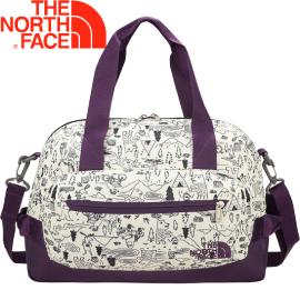 【The North Face Half Dome Tote 肩背包〈白/紫〉】2SAK/肩背包/手提包★滿額送