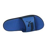 PUMA Softride Slide 男運動拖鞋(海邊 海灘 戲水 游泳「38211106」≡排汗專家≡
