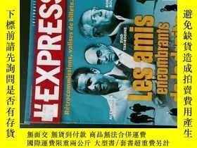 二手書博民逛書店L 罕見EXPRESS N.3141 2011 09 20 法國焦點 法語快報 外文新聞雜誌Y114412