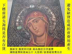 二手書博民逛書店RUSSIAN罕見CHURCH ART TODAY 原版精裝Y1