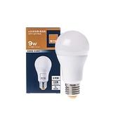 特力屋 9W LED球泡型燈泡-燈泡色