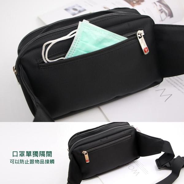 Catsbag 台灣品牌多收納四層斜背包 腰包 胸包 1812