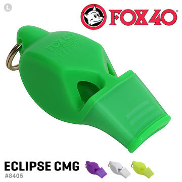 【EMS軍】加拿大FOX 40 ECLIPSE CMG哨子(附繫繩)-公司貨 #8405系