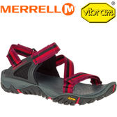 【MERRELL 美國 女款 ALL OUT BLAZE WEB 水陸兩棲鞋〈紅/黑〉】ML37610/休閒鞋/登山鞋/運動鞋★滿額送
