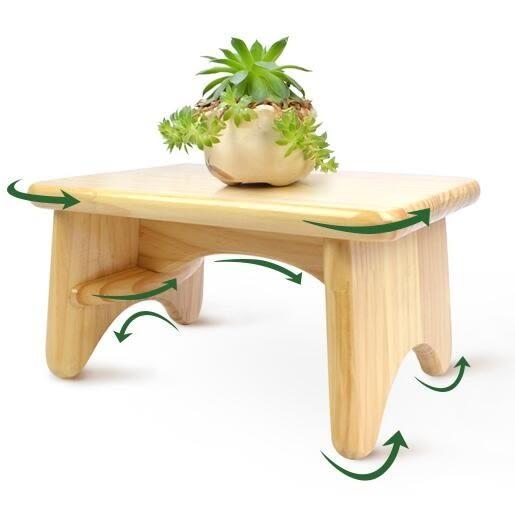 凳子 客廳實木小板凳兒童矮凳墊腳 木頭子創意小方凳jy【快速出貨八折搶購】