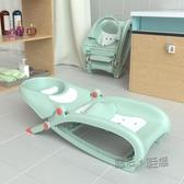 兒童洗頭躺椅可摺疊洗頭神器嬰兒寶寶家用大號小孩躺著洗發床凳子  ATF  魔法鞋櫃
