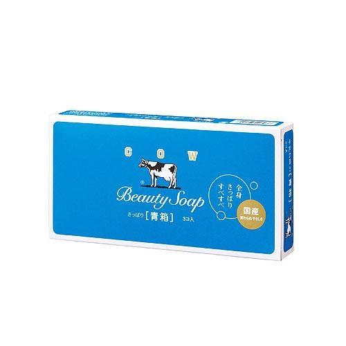 日本牛乳香皂茉莉清香85g*3【愛買】