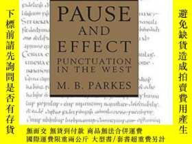 二手書博民逛書店Pause罕見And Effect-停頓和效果Y436638 M. B. Parkes Routledge,