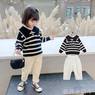 女童毛衣套裝2020秋冬裝新款韓版童裝寶寶小童網紅兒童洋氣兩件套 蘿莉新品