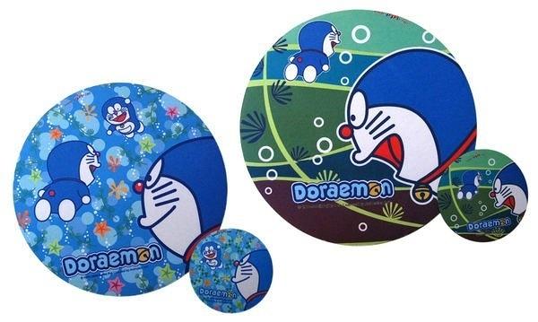 【卡漫城】 Doraemon 子母彈性 滑鼠墊 二款選一 ㊣版 多拉 哆啦A夢 小叮噹 杯墊 精準 圓型 圓形