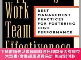 二手書博民逛書店預訂Supporting罕見Work Team Effectiveness: Best Management Pr