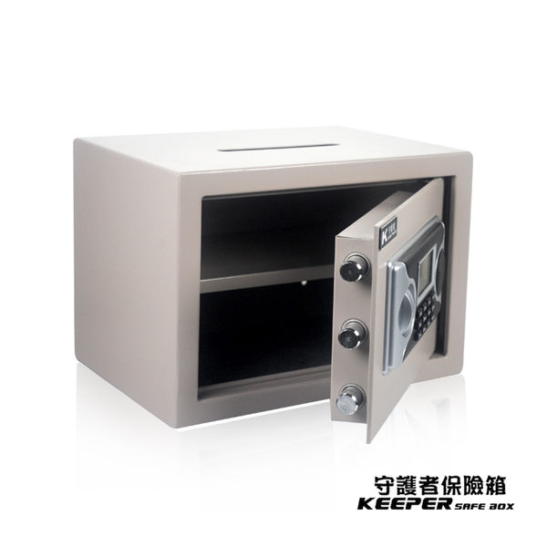 【守護者保險箱】保險箱 保險櫃 保管箱 收納箱 CE認證【免運費】上方開孔投入 25LAT-D
