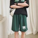 籃球運動短褲男潮流夏季外穿薄款透氣休閑五分褲寬松沙灘褲跑步褲