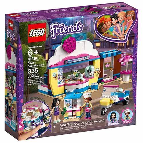 樂高積木 LEGO《 LT41366 》Friends 姊妹淘系列 - 奧麗薇亞的杯子蛋糕屋╭★ JOYBUS玩具百貨