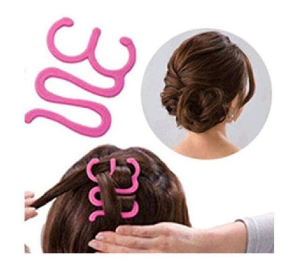 數位風潮*OH0138 美髮 編髮器 髮型 編髮夾 DIY 美髮 大小號 盤髮器 時尚造型器【B00647H】