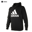 adidas 愛迪達 三葉草 男純棉 連帽 帽T 大學T 長袖上衣CW3861 /澤米(全館任二件商品免運費)