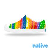 native 小童鞋 JEFFERSON 小奶油頭鞋- 彩虹盛典