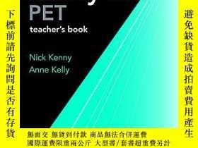 二手書博民逛書店Ready罕見for PET: Teacher s Book(