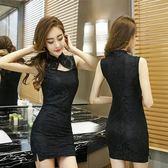 性感情趣內衣用品女士透視旗袍連身露臀短裙極度制服激情套裝情
