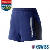 K-SWISS Woven Shorts 4 運動短褲-女-藍