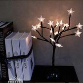 創意禮物ins北歐裝飾燈床頭燈個性造型燈彩燈串LED小夜燈檯燈樹燈 「夢娜麗莎精品館」