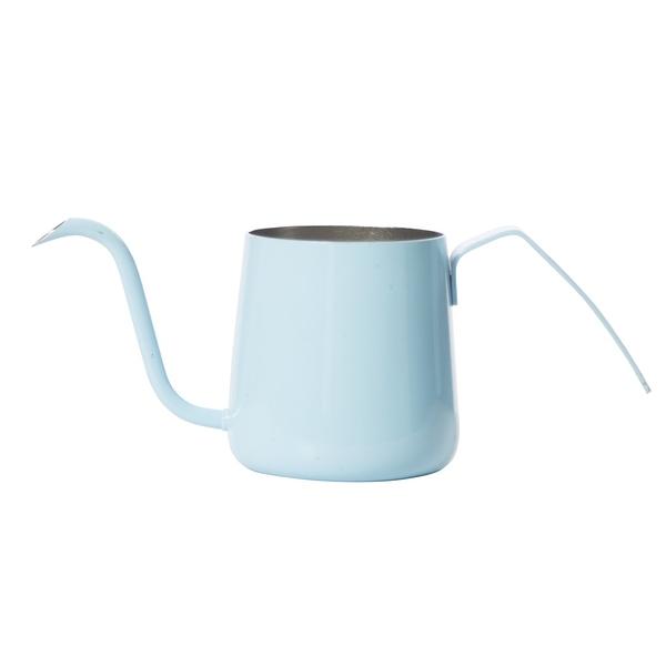 金時代書香咖啡 AKIRA 不銹鋼細口手沖壺 230ml 粉藍色 C11-BU (是否有貨請詢問LINE@客服人員)