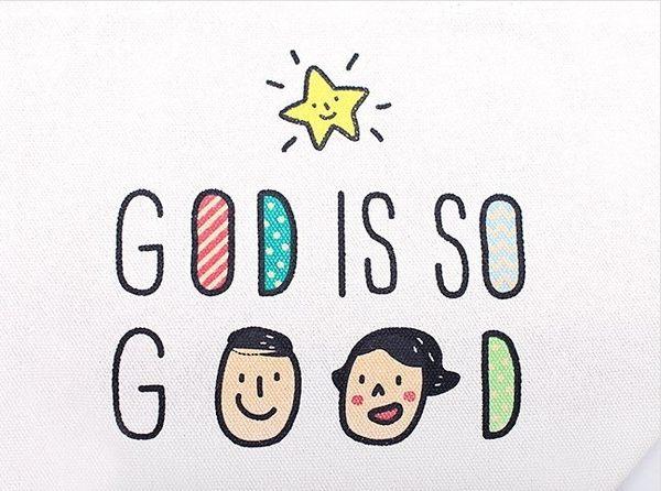 J0024~教會版~帆布包- GOD IS SO GOOD