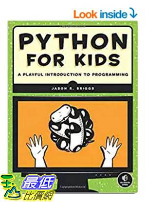 [106美國暢銷兒童軟體] Python for Kids: A Playful Introduction to Programming