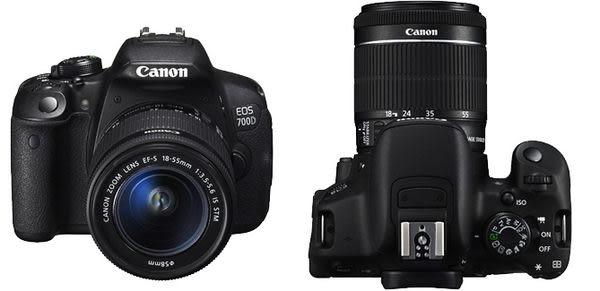 【單眼相機】Canon EOS-700D 18-55MM