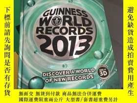 二手書博民逛書店Guinness罕見World Records 2013Y267