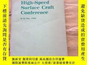 二手書博民逛書店High-Speed罕見Surface Craft Confer