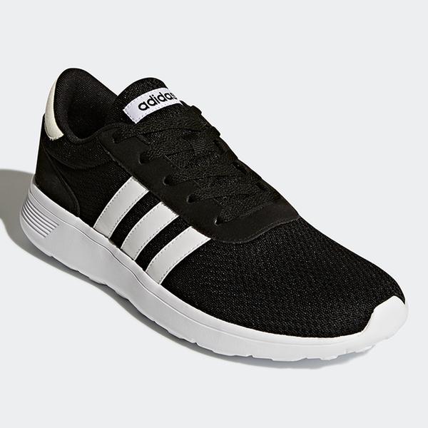 【現貨】ADIDAS LITE RACER 男鞋 女鞋 慢跑 休閒 網布 透氣 黑 / 白【運動世界】BB9774 / FX3484
