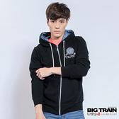 Big Train 男版連帽外套-男-黑色-Z3001088