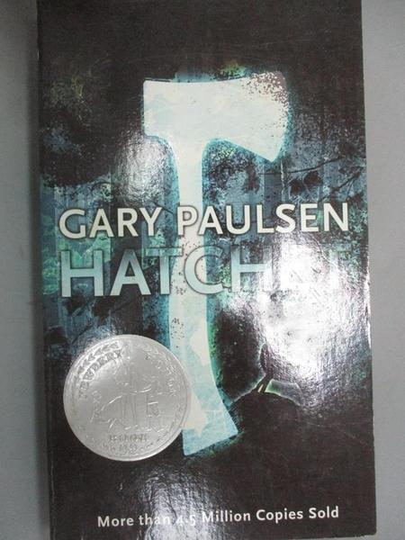 【書寶二手書T3/原文小說_A7Q】Hatchet_Paulsen, Gary