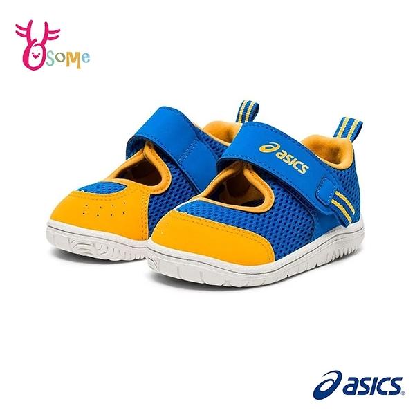 ASICS童鞋 寶寶鞋 男學步鞋 護趾涼鞋 AMPHIBIAN BABY SR 2 寶寶運動鞋 學步涼鞋 網布 小童 C9168