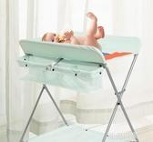 babyboat尿布台嬰兒護理台新生兒寶寶換尿布台按摩撫觸台可折疊MBS『潮流世家』