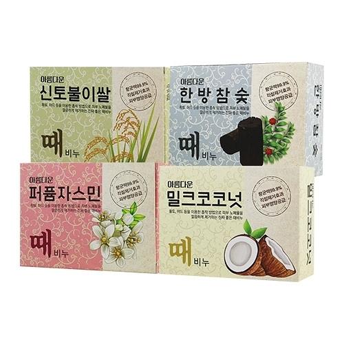 韓國 Sungwon 奇蹟仙女去角質搓仙皂 100g 去角質皂【新高橋藥妝】4款供選