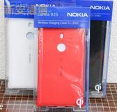 {新安} 原廠公司貨 NOKIA Lumia 925 原廠 無線充電背蓋 CC-3065 充電電池蓋 手機殼 保護殼 QI認證 (紅)