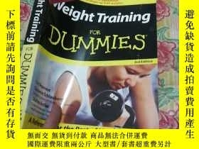 二手書博民逛書店Weight罕見TrainungY186899 DUMMIES