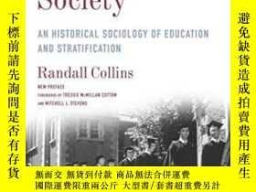 二手書博民逛書店The罕見Credential SocietyY364153 Randall Collins Columbia