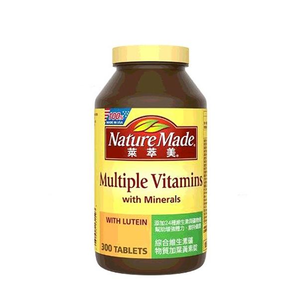 [COSCO代購] W196588 Nature Made 萊萃美 綜合維生素礦物質加葉黃素錠(食品) 300錠
