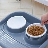 貓碗雙碗防打翻貓糧碗盆狗碗狗食碗