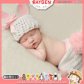童裝 嬰兒攝影寫真兔子造形帽+包屁褲 套裝