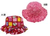【卡漫城】 漁夫帽 52cm 兩款選一 ㊣版 圓點 荷葉邊 遮陽帽 兒童帽 帽子 女童 幼兒 台灣製