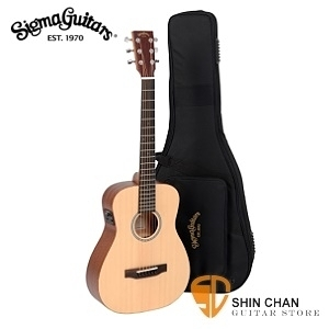 Sigma TM-12E 可插電小吉他/baby吉他/旅行吉他 34吋(TM12E雲杉面單板+Fishman拾音器) 附Sigma吉他袋