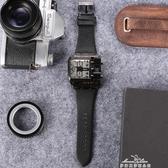 Oulm歐鐳手錶潮流大盤手錶歐美嘻哈風格創意概念手錶哈倫復古男錶『夢娜麗莎』