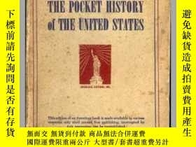 二手書博民逛書店THE罕見POCKET HISTORY of THE UNITE