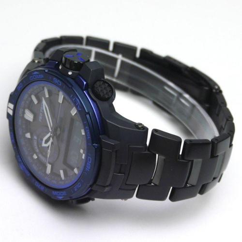 免運費 日本正規貨 CASIO PRO TREK 太陽能電波多功能男錶  登山錶 限量款 PRW-6000SYT-1JF