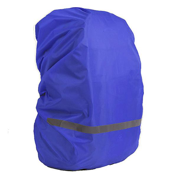 ★7-11限今日299免運★M 反光背包罩 防水套 防塵罩 防雨罩 戶外背包罩 反光條【H066】