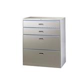 【YUDA】UD-4A 一般抽屜四層式(二大二小抽)理想櫃/鐵櫃 文件櫃/展示櫃/公文櫃